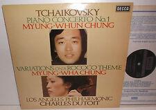 SXL 6955 Tchaikovsky Piano Concerto No.1 Myung-Whun Chung Rococo Myung-Wha Chung