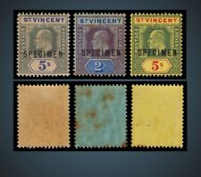 1902 -1911 ST. VINCENT KING EDWARD VII SPECIMEN MNH