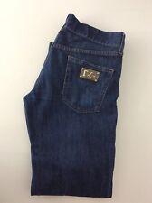 "Dolce & Gabbana D&G Hombres Jeans, Talla 48, L30"" Azul Denim, gc"
