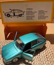 Solido Gam 2 Citroën GS de couleur verte, bon état, avec sa boite d'origine