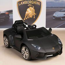 Ride On Car Kids Lamborghini Aventador 12V Power Wheels RC Remote Control Black