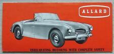 ALLARD PALM BEACH Car Sales Leaflet Brochure c1954