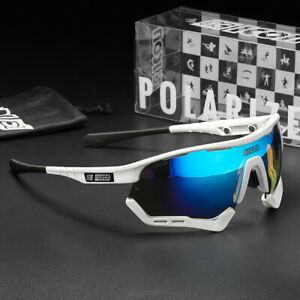 TR90 Polarized Cycling Sunglasses  Riding Glasses Sports Outdoor Sunglasses