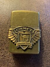 New ListingVintage 1994 Camel Genuine Taste Zippo Lighter - Antique Brass
