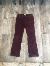 St Johns Bay Womens Red Corduroy Jeans
