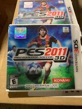 Pro Evolution Soccer 2011 3D (Nintendo 3DS, 2011) ~ New Sealed ~