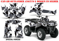 AMR RACING DEKOR KIT ATV CAN-AM OUTLANDER STD & MAX GRAPHIC KIT SPECIAL FORCES B