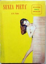 ROMANZO SELEZIONE GIALLO AMERICANI N.12 1965 B. FISHER EUROPER