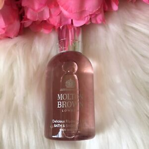 Molton Brown Delicious Rhubarb and Rose Bath and Shower Gel 100ml New