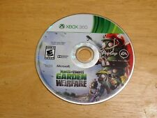 Plants Vs Zombies Garden Warfare Xbox 360 Video Game Disc Only