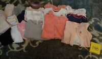 Girls Clothes 6 Month - Fall/Winter - Mixed Lot of 20 Pieces #148