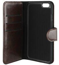 Xqisit Detachable Shell Wallet Case Eman for Apple iPhone 6 Plus / 6s Plus Brown