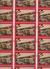 Uncut Sheet Santa Fe Railroad Playing Cards Trains Passing in Scenic West Clubs