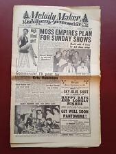 Melody Maker - December 11th 1954 - Newspaper Magazine Paper #B847