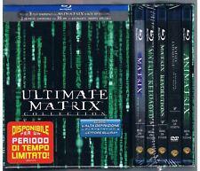 ULTIMATE MATRIX COLLECTION BOX 4 BLU RAY DISC + 3 DVD RARO BOX - SIGILLATO
