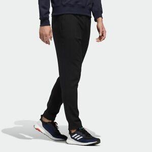 Adidas GE0398 Men ATHLETICS must-have warm wind pants Black