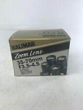 Vintage Kalimar Zoom Lens 35-70mm  F3.5-4.5 New