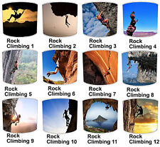 Lampshades Ideal To Match Rock Climbing Mountaineering Wall Decals & Stickers