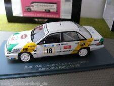 1/43 Neo Audi 200 Quattro LUK- A.Schwarz Acropolis Rally 1989