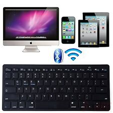 Bluetooth 3.0 Wireless Keyboard for Android Tablet Apple iPad-1 2 3 4 - Black