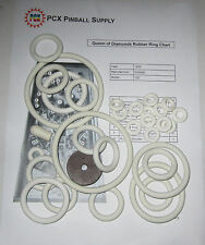 1959 Gottlieb Queen of Diamonds Pinball Machine Rubber Ring Kit