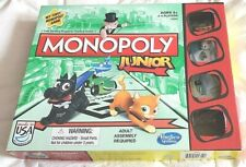 Monopoly Junior Game **REPLACEMENT PIECES ONLY** Tokens cards $$ Board Box Rules