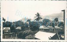 More details for 1940s st johns worker photo, st kitts village and sea inlet 5.5*3.5