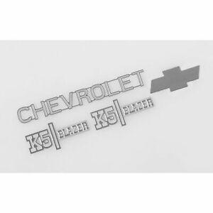 RC4WD Metal Emblem Set Chevrolet Blazer