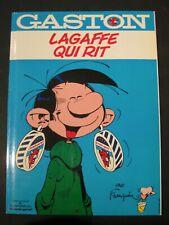 Gaston Lagaffe qui rit AVEC poster et autocollants Franquin 1985 TBE