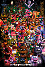 Five Nights at Freddys Ultimate Group Maxi Poster Picture 61x91.5cm | 24x36 inch