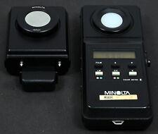 Nr Mint Minolta Color Meter II Kit c/w Flash Color Receptor Advanced Color Meter