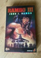 Hot Toys Movie Masterpiece Rambo III deluxe 1/6 scale collector's figure