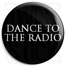 Joy Division - Dance to the Radio - Black - Post Punk Indie 25mm Button Badge