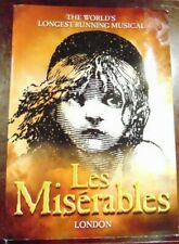 LES MISERABLES QUEEN'S THEATRE LONDON PROGRAM published 2011