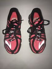 Brooks Pure Flow P2 Hot Pink Black Silver Running Shoes Women's Size 8