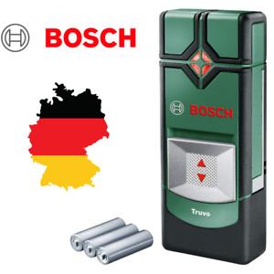 BOSCH Truvo Ortungsgerät Leitungssucher Stahl Kupfer Strom inkl. Batterien & Box