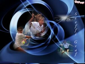Steffi Graf Reproduction archival quality photo 2