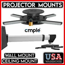 Universal Projector Ceiling Mount Bracket Wall Mount Tilt Extendable LCD DLP