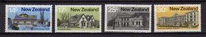 12206) NEW ZEALAND 1980 Early NZ Architecture - MNH**