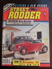 Street Rodder Magazine February 1990 Don Garlits Giveaway '48 No Label (A1)