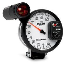 "Auto Meter 7599 Phantom II Shift Lite Light Tachometer 5"" 0 - 10000 RPM Tach"