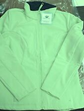 Ladies Chestnut Hill Wintercept Soft Shell Jacket Bamboo/Nvy sz M [STK-CH920]