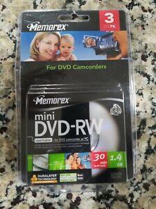 Memorex: 3 Pack: Mini DVD-RW