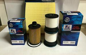 JEEP GRAND CHEROKEE WK 3.0L V6 DIESEL Filter Kit - OIL AIR FUEL FILTERS 2010 -->