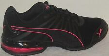 WOMEN'S PUMA CELL KILTER NUBUCK SOFT FOAM ATHLETIC RUNNING BLACK SHOES SIZE 7.5