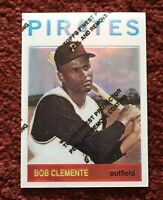 ROBERTO CLEMENTE 1998 Topps 1964 Finest Refractor W/Coating Pittsburgh Pirates
