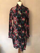 Beautiful 100% Silk UK8 Liberty Of London Print Shirt Dress