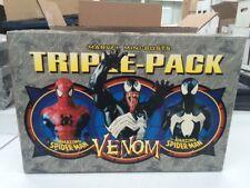 Amazing Spider-Man Triple Pack Mini Busts Bowen Designs Venom 2002 Marvel