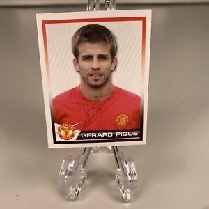 Rare 2007 Panini Manchester United Sticker Gerard Pique Rookie Pack Fresh Mint