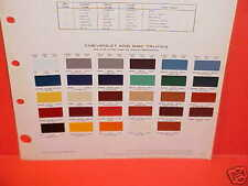 1980 CHEVROLET CHEVY BLAZER FLEETSIDE GMC SUBURBAN PICKUP TRUCK VAN PAINT CHIPS